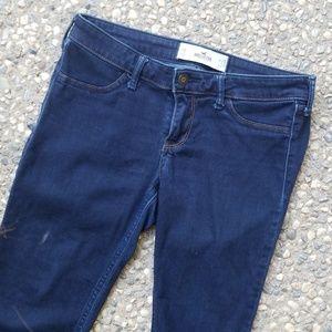 Hollister Dark Wash Denim Jeans 7S